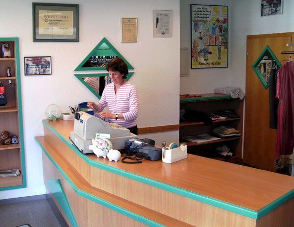 Unser Geschäft in Bad Krozingen - Empfang
