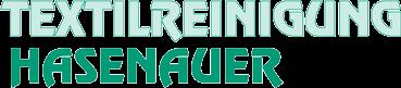 Textilreinigung Hasenauer - Logo