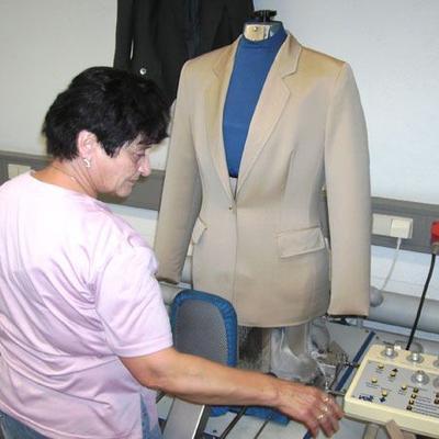 Formfinisher für Oberbekleidung